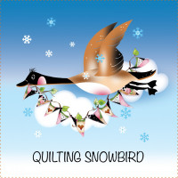 Quilting SnowbirdPhone Orders Only - Product Image