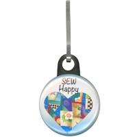 Sew Happy Zipper Pull - Product Image