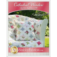 Cathedral Window Quilt & Pillow - Product Image