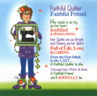 Faithful Quilter  Currently out of stock - Product Image