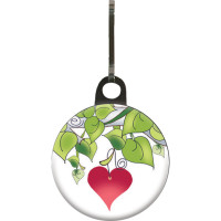 Heart Zipper Pull - Product Image