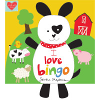 I Love Bingo Soft Book      - Product Image