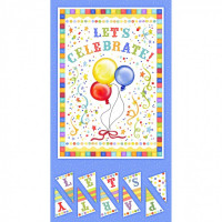 "Let's Celebrate Panel  24"" - Product Image"