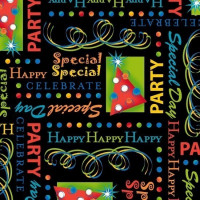 Party On! - Motifs Black - Product Image