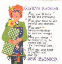 Quilter's Blessing Currently out of stock - Product Image