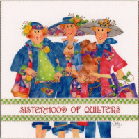 Sisterhood of Quilters Panel - Product Image