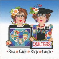 Sew, Quilt, Shop, Laugh  - Product Image