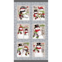 Snow Place Like Home Panel - Product Image