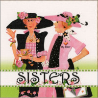 Two Sisters Panel - Product Image