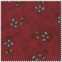 Why - Burgundy Floral - Product Image